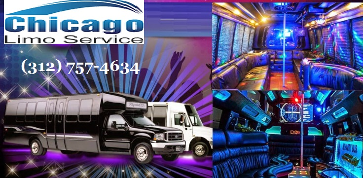 Chicago Party Bus Near Me - Chicago Limousine Rentals