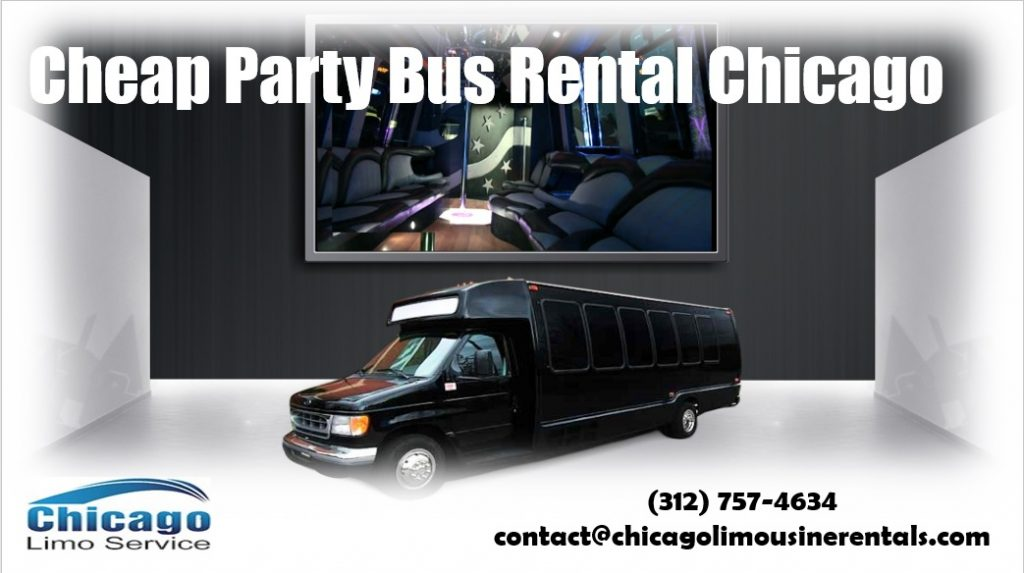 Cheap Party Bus Rentals Chicago