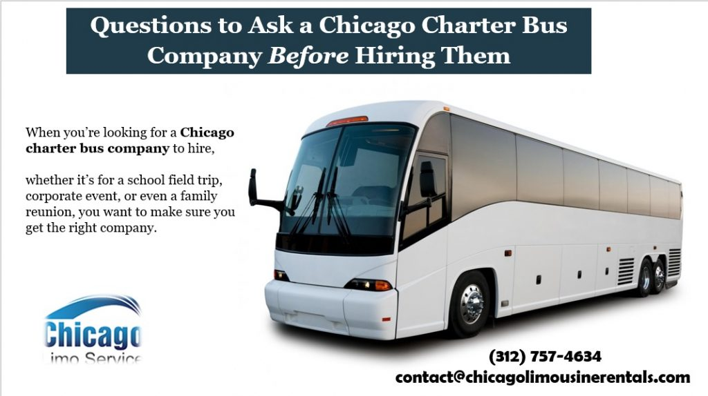 Questions To Ask A Chicago Charter Bus Company 312 757 4634