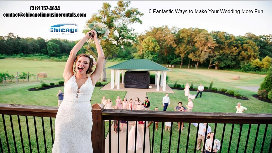 6 Easy Ways to Make Your Wedding More Fun